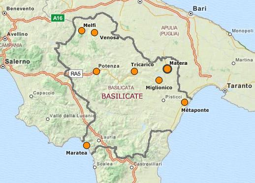 """Résultat de recherche d'images pour """"la basilicate"""""""