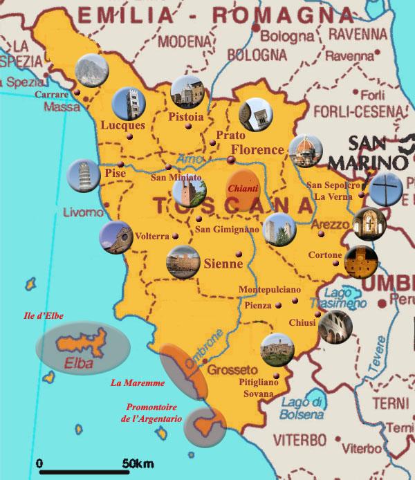 toscane-carte-italie