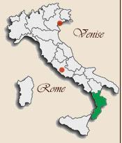 Carte Italie Calabre.Carte De La Calabre