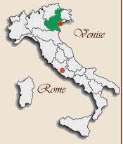 Carte Italie Region Venise.Venetie