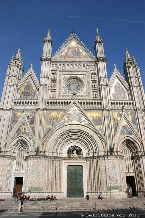 Duomo d 39 orvieto for Architecture italienne