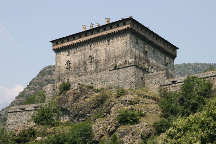 Forte de Bard, Teatro Romano, Aosta, Castelo de Savoia, chateaux Issogne, chateaux de verrès