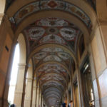 Portici di piazza Cavour e via Farini